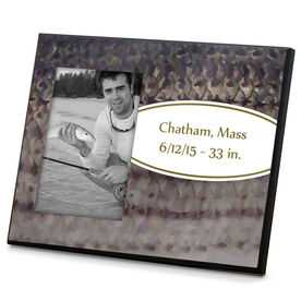 Fly Fishing Photo Frame Striper With Label
