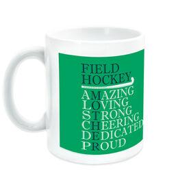 Field Hockey Ceramic Mug - Mother Words