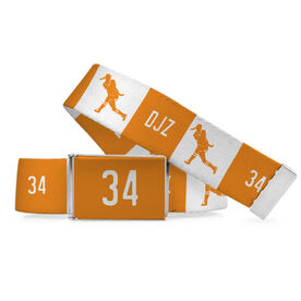 Field Hockey Lifestyle Belt Personalized Player Shooting