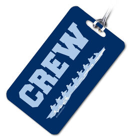 Crew Bag/Luggage Tag Scull Team Light Blue/Blue