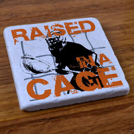 Raised in a Cage - Stone Coaster