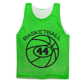Basketball Pinnie - Personalized Number