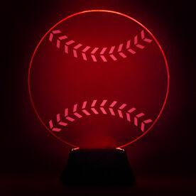Baseball Acrylic LED Lamp Hardball