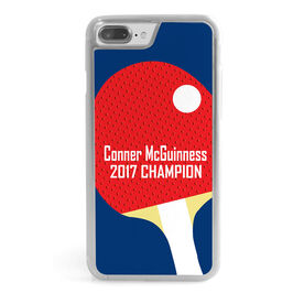 Ping Pong iPhone® Case - Personalized Paddle