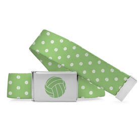 Volleyball Lifestyle Belt Volleyball Polka Dots