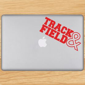 Track & Field Removable GoneForaRUNGraphix Laptop Decal