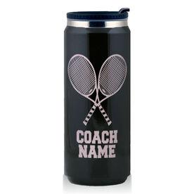 Stainless Steel Travel Mug Tennis Coach