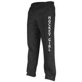 Hockey Girl Fleece Sweatpants