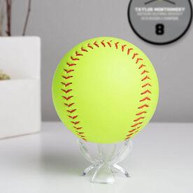 Softball Acrylic Ball Stand