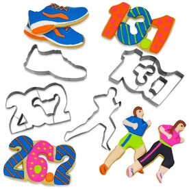 Runner's Cookie Cutters (Set of 4)