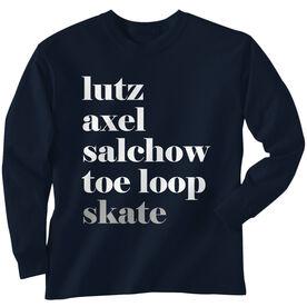 Figure Skating Long Sleeve Tee - Skate Mantra