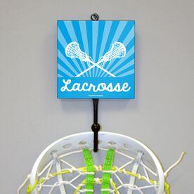 Lacrosse Beam Blue Hook