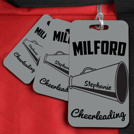 Cheer Bag/Luggage Tag Personalized Megaphone