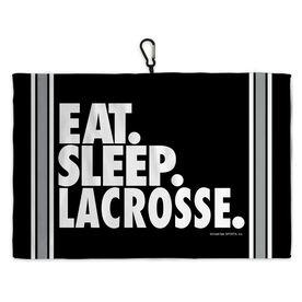 Lacrosse Bag Towels Eat Sleep Lacrosse