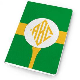 Golf Notebook Monogram