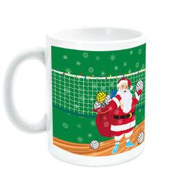 Volleyball Ceramic Mug Santa