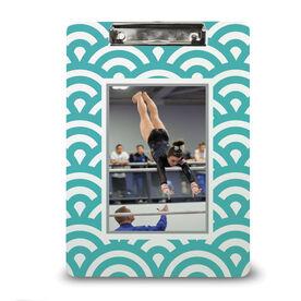 Gymnastics Custom Clipboard Your Photo Pattern