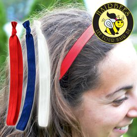 Hairbees Hair Bands- Patriotic  (Set of 3)
