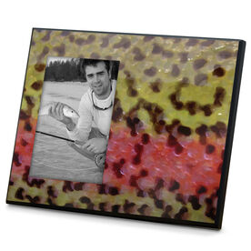 Fly Fishing Photo Frame Rainbow Trout Without Label