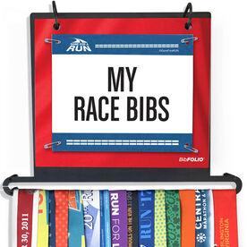 BibFOLIO Plus Race Bib and Medal Display Runner's Bib