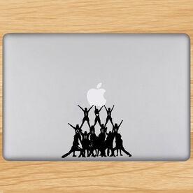 Cheer Pyramid Removable ChalkTalkGraphix Laptop Decal