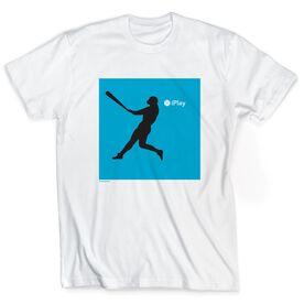 Baseball Tshirt Short Sleeve iPlay Baseball