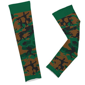 Hockey Printed Arm Sleeves Hockey Camo