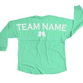 Cheerleading Statement Jersey Shirt Cheer Team Name