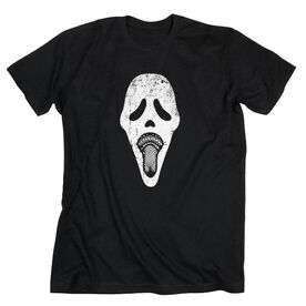 Guys Lacrosse Short Sleeve T-Shirt - Ghost Face