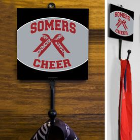Cheerleading Hook Personalized Cheer Squad with Bow