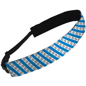 Julibands No-Slip Headbands Soccer Ball Stripe