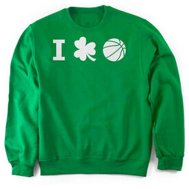 Basketball Crew Neck Sweatshirt - I Shamrock Basketball