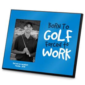 Golf Photo Frame Born to Golf
