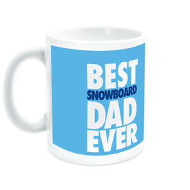 Snowboarding Ceramic Mug Best Dad Ever