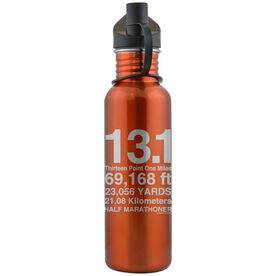 13.1 Math Miles 24 oz Stainless Steel Water Bottle