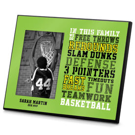 Basketball Photo Frame We Do Basketball