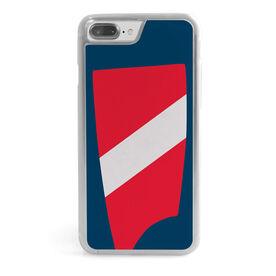 Crew iPhone® Case - Custom Oar Colors 1 Diagonal Stripe