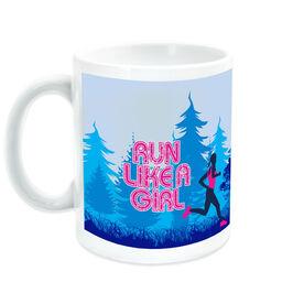 Running Ceramic Mug Run Like A Girl