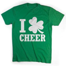 Cheer Tshirt Short Sleeve I Shamrock Cheer