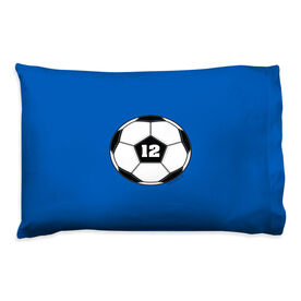 Soccer Pillowcase - Personalized Ball