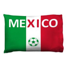 Soccer Pillowcase - Mexico