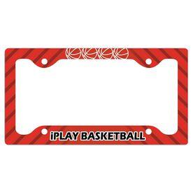 Iplay Basketball License Plate Holder