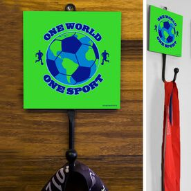 Soccer One World One Hook