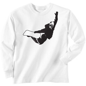 Snowboarding Tshirt Long Sleeve High Altitude