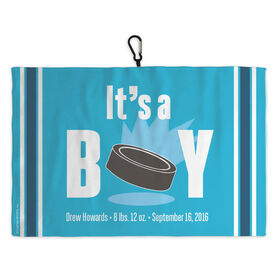 Hockey Skate Towel Hockey It's A Boy