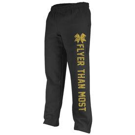 Cheerleading Fleece Sweatpants Flyer than most