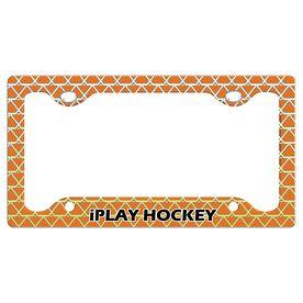 Iplay Hockey License Plate Holder