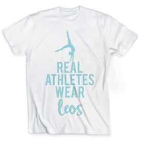Vintage Gymnastics T-Shirt - Real Athletes Wear Leos