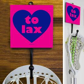 Lacrosse Hook Heart To Lax