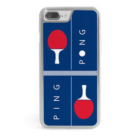 Ping Pong iPhone® Case - Ping Pong Table